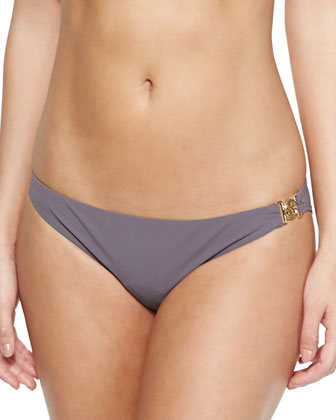 Low-Rise Logo Swim Bottom