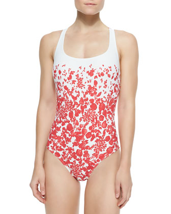 Issy Floral-Print One-Piece Swimsuit
