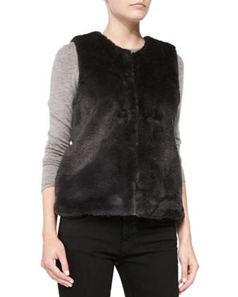 Casia Faux-Fur Vest