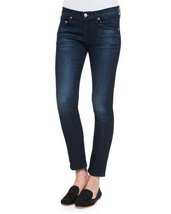 South Port Low-Rise Capri Jeans