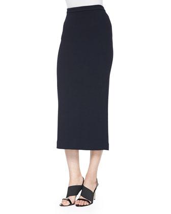 Jamie Long Pencil Skirt, Navy