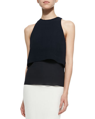 Morrison Sleeveless Popover Top