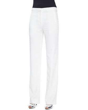 Oliver Wide-Leg Suit Pants