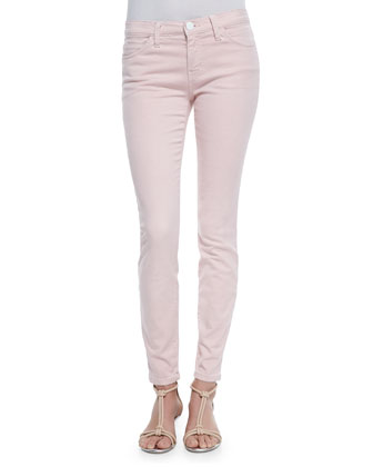 The Ankle Skinny-Fit Jeans, Washed Stardust