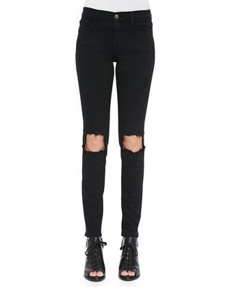 Le Color Destroy Skinny Jeans