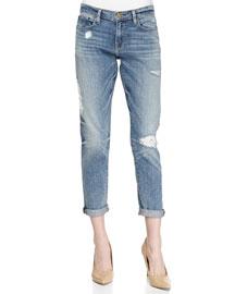 Le Garcon Distressed Denim Jeans