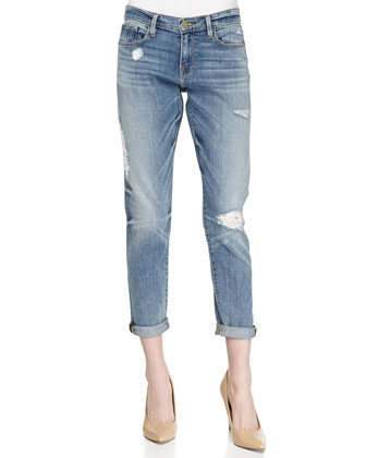 Le Garcon Distressed Denim Jeans