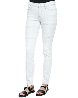 Le Skinny Panel Denim Jeans, Horizon