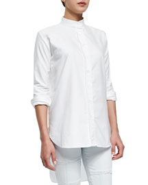 Le Tunic Stretch Woven Shirt