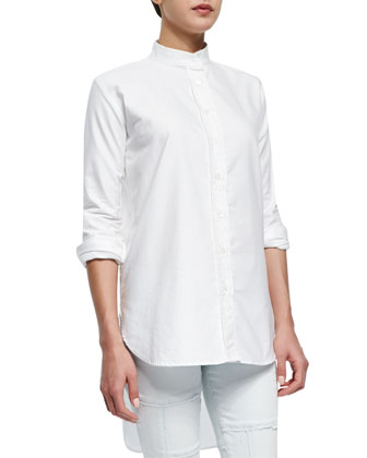 Le Tunic Stretch Woven Shirt