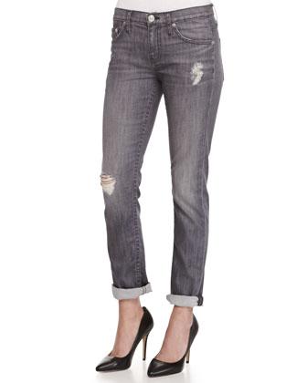 Skylar Smoke & Mirrors Distressed Jeans