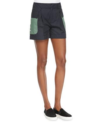 Classic Cuffed Utility Shorts