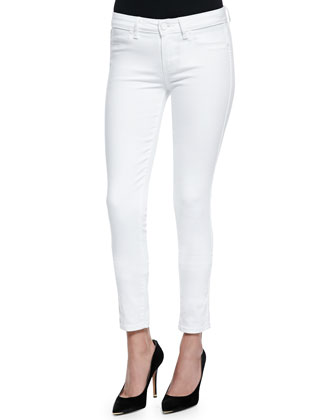 Verdugo Cropped Skinny-Fit Jeans