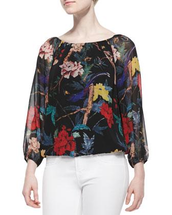 Alta Floral-Print Top