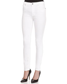 The High-Waist Ankle Skinny-Fit Jeans