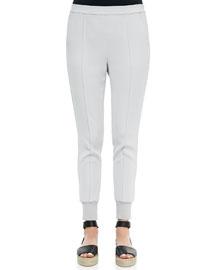 Pintucked Slim Jogger Pants