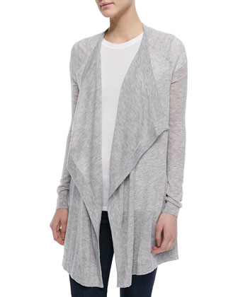 Lightweight Draped Cardigan