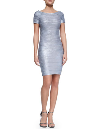 Carmen Bandage Cocktail Dress