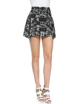 Ophelie Tweed Mini Skirt