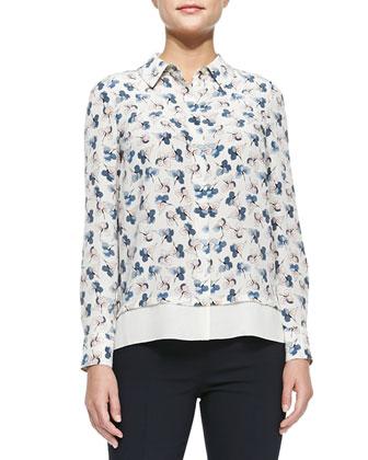 Pamela Floral-Print Shirt