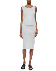 Featherweight Slub Jersey Dress