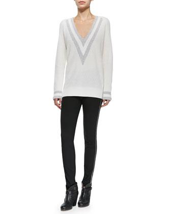 Cashmere Talia V-Neck Sweater
