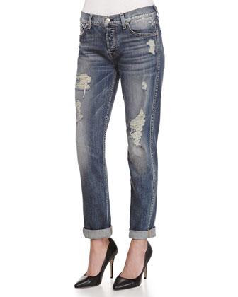 Josefina Destroyed Vintage Denim Jeans