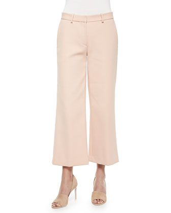 Sprinza Wide-Leg Cropped Pants