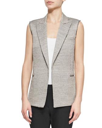 Eldora Patterned Suiting Vest