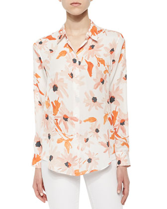 Perfect Floral-Print Blouse
