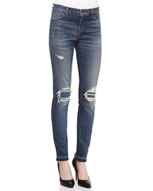 Ellis Villain Distressed Denim Jeans