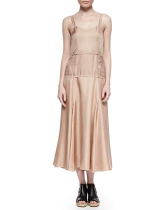 Jade Sleeveless Drop-Waist Dress