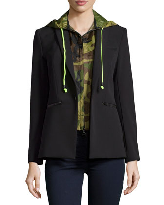 Scuba Jacket with Camo Dickey