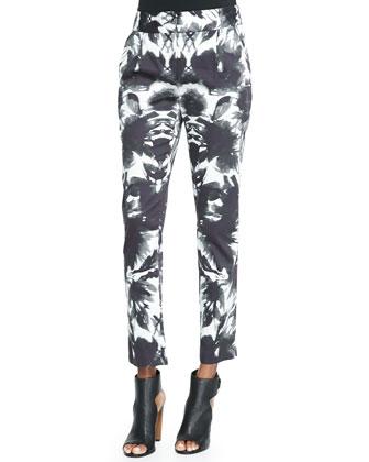 Floral Mirage Print Pants