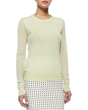 Lex Lightweight Knit Wool Sweater