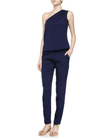 Lulu One-Shoulder Jumpsuit