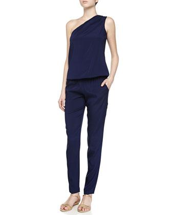 Lulu One-Shoulder Jumpsuit