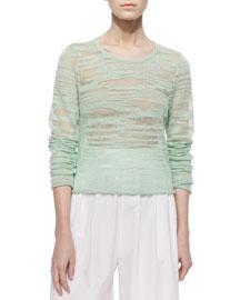 Fallon Sheer Knit Sweater