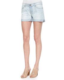 Sawyer Light-Wash Denim Shorts