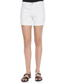 Mason Cuffed Denim Shorts