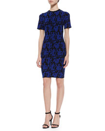 Faces Fitted Knit Dress