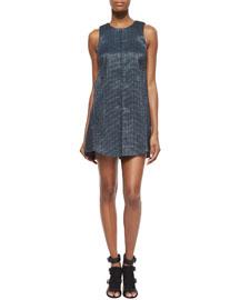 Philipa Shimmery Tweed Dress