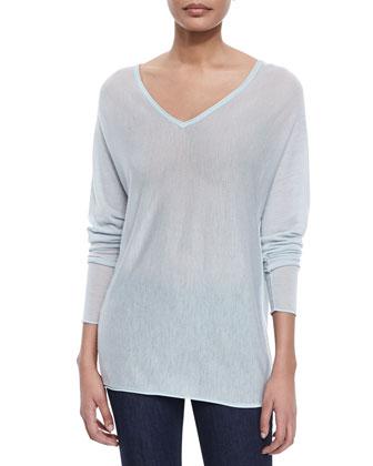 Harvey Cashmere Sweater, Mint