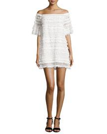Pablo Fringe/Lace Dress