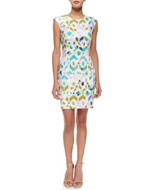 Mosaic Modern Sheath Dress