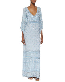 Hajari Sequin Maxi Dress, Starlight