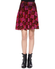 Open-Stitch Love A-Line Skirt