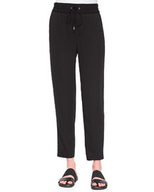 Revolve Drawstring Ankle Pants