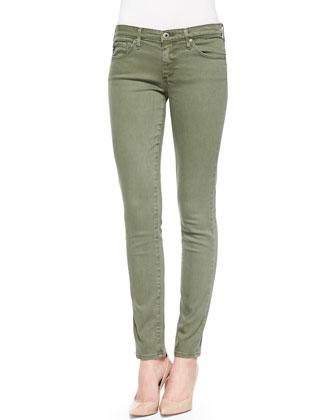 The Stilt Cigarette Ankle Jeans
