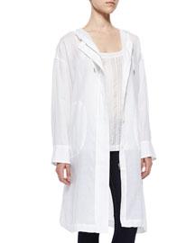 Arawn Sunny Linen Jacket, White